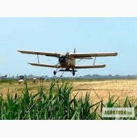 Послуги з внесення сипучих мінеральних добрив: підживлення пшениці авіацією