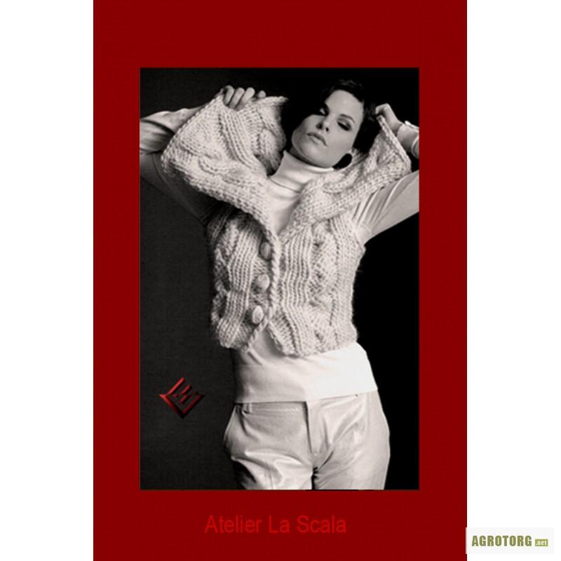 Вязание на спицах толстых свитеров 632