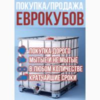 Закупка бу еврокубов 1000л