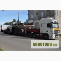 Негабаритные перевозки Кировоград, перевозка комбайнов, негабарита