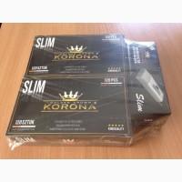 Набор сигаретных гильз Korona Slim 120 шт 2уп.+ машинка Slim