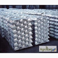 На экспорт алюминий первичный марок: А7, А8 и др