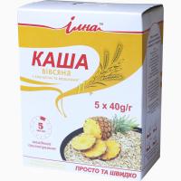 Продам Каша вівсяна швидкого приготування з ананасом та вершками
