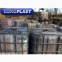 Купить емкость пластиковая тара бочки для воды б/у 1000 л