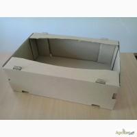 Лоток 584х384х185 для овощей, гофролоток, гофротара, картонный ящик