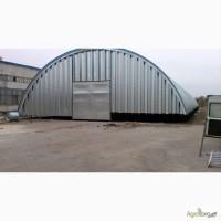 Бескаркасные арочные ангары, склады и сооружения