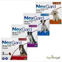 Merial NexGard L таблетки от блох и клещей для собак (Нексгард) вес 10-25кг