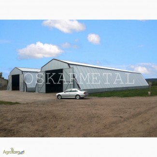 Строим ангары, склады, зернохранилища и др
