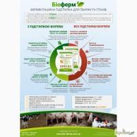 Ферментационная подстилка для животных и птиц Биоферм (Bioferm)