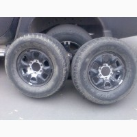Диск Р16 6х139, 7 с шиной TOYO 265/70 Р16 на запаску 2шт