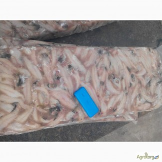 Тушка бычка обесшкуренную и на шкуре