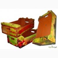 Ящик для персиков, тара для персиков, гофротара, гофрокартон, картон