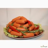 Сосиски від ТМ Стовпинські ковбаси