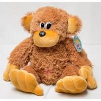 Купить большую мягкую игрушку обезьяну 75 см