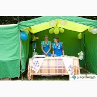 Палатки для агровыставки, агро-маркетинга
