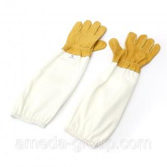 Перчатки кожа для пчеловода