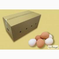 Ящики для Яиц, тара для яиц, картонный ящик, гофротара