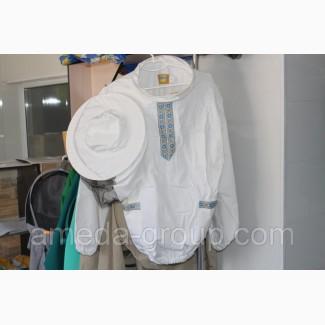 Куртка пчеловода коттон с вышивкой
