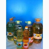 Продам масло подсолнечное рафинированное и нерафин