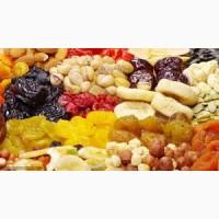 Сухофрукты, орехи в ассортименте куплю