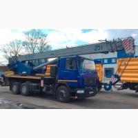 Новый автокран КС-55727-С-12 Машека 25 тонн на шасси МАЗ-6312С3