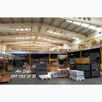 Мезонин на колоннах для складов и овощехранилищ. Внутренний этаж