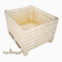 Евроконтейнер, евроящик, деревянный контейнер для яблок