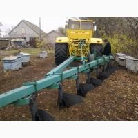 Оранка трактором к 701