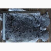 Шкуру кролика выделанную серую оптом продам