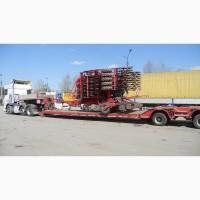 Перевозка негабаритных грузов Житомир негабарита комбайна экскаватора аренда услуги трала