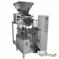Автомат для фасовки сыпучих продуктов в пакеты дой-пак весовым способом (083.32.07)