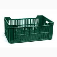 Ящик пластиковый 600х400х240, 20кг (2 сорт), (цветной)