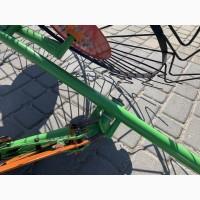 Грабли-ворошилки Солнышко к мотоблоку и мототрактору 4 колеса