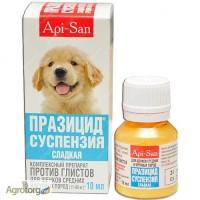 Празицид сладкая суспензия для щенков средних и крупных пород