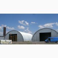 Продажа бескаркасных арочных ангаров, складов и перекрытий