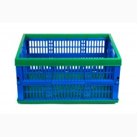 Ящик раскладной пластиковый (488х355х235), 15кг, (1 сорт)