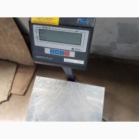 Ваги електронні товарні ВН-500-1-А (ЖКІ) (весы складские, напольные)