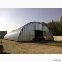 Строим бескаркасные арочные ангары, склады и перекрытия