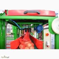 Фасовочно-упаковочное оборудование овощей и фруктов Упаковка в сетку и пленку