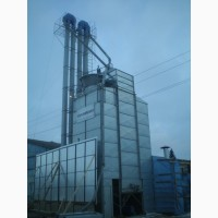 Зерносушилка на дровах - 7 т/ч (кукуруза 24%-14%)