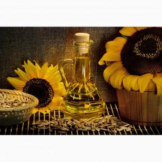 Продаж рафінованої та не рафінованої соняшникової олії