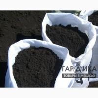 Земля черная садовая в мешках 40кг
