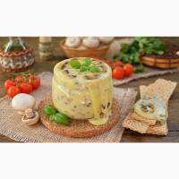Сир плавлений з грибами домашній 300г