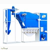 Высокоэффективный зерноочистительный сепаратор САД-10 с циклоном
