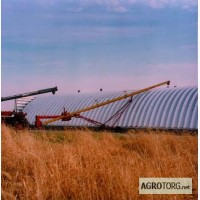 Зернохранилища фермерского типа - стальные арочные зерносклады - 030718