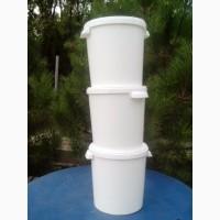 Ведра відра пластиковые ПИЩЕВЫЕ под МЕД 20 л 200 шт емкост бочки бидон пчелы