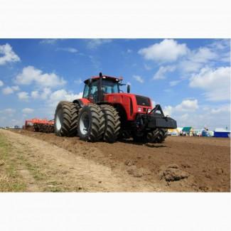 Дисковка почвы, пахота, культивация, посев