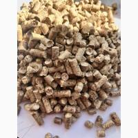 Древесные топливные пеллеты, пелета, гранулы из сосны 6 мм и 8 мм