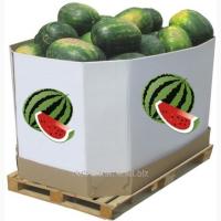 Арбузные ящик (октабин), ящики вместимостью до 1000 кг