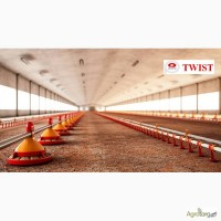 Линия напольного кормления бройлера TWIST Италия